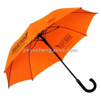 Durable Fiberglass Windproof Promotional Umbrellas