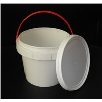 In Mould Label Printing Plastic Bucket, Confectionery Container ,Food Grade PP Material