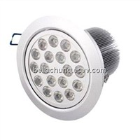LED Ceiling lights 1620lm 18W AC110/220V input CE Rohs approved