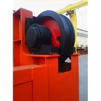 Steel crane wheel assemblies