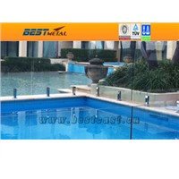 Tempered glass pool panel