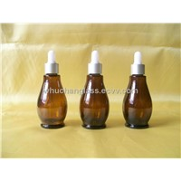 New Style Amber Essential Oil Bottles With Dropper