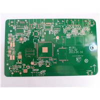 Rigid 4-layer Printed Circuit Board with 1.6mm Finish Thickness