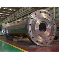 42CrMo 40CrNiMo Heavy Steel Forgings seamless ring heat treatment , EF + LF + VD