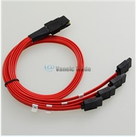 50cm Mini SAS 4i SFF-8087 36-Pin to 4 SATA 7-Pin HDD Hard Drive Splitter Cable