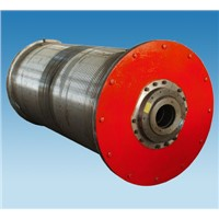 Cable reel drum for industrial use