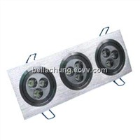 Factory wholesale Rectangle 15W Residential LED ceiling lamps