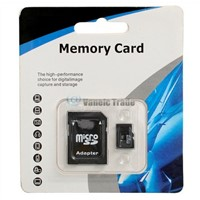 New 2GB/4GB/8GB/16GB/32GB Micro SD MicroSD SDHC TF Memory Card with SD Adapter