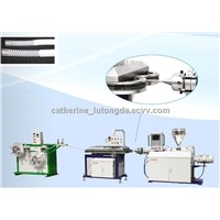 PVC/PE/PP/PU medical tube extruder machine