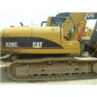 Used Cat 320C Excavator originated in Japan