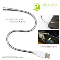 S-shaped USB LED Night Light DC5V for Portable Notebook Laptop Keyboard