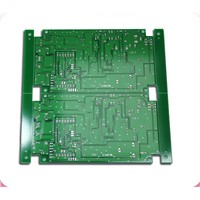 Double-sided PCB with Lead-free HAL Finishing, 1.6mm Thickness