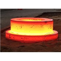 construction Heavy Steel Forgings ASTM EN DIN GB / carbon steel flange , thickness 1000mm