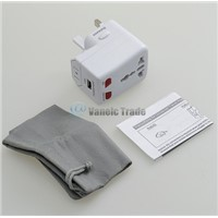 world travel adapter with USB [white] igipower ACP-WTA Universal World Travel Adapter Converter