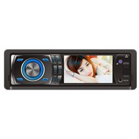 3inch in dash 1 din car dvd player with usb/sd