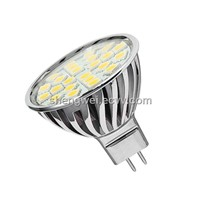 5W GU10 24 PCS 5050 SMD LED Spotlight (TUV&CE&RoHS)