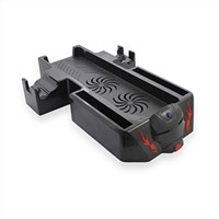 Dual Controller Charging Station Vertical Stand Cooling Fans for Xbox One