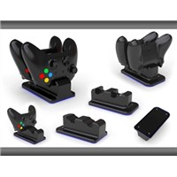For Xbox One Double cradle and Charge Station with 2 Battery Packs