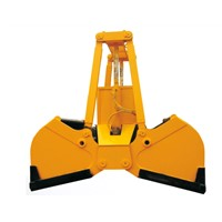 Electric  hydraulic  Grab bucket supplier