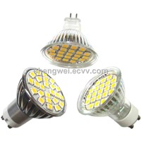 5W GU10 MR16 5050 SMD LED Spotlight