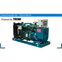 Yuchai brand small water cooled 20KVA diesel generator electric power