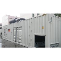 Soundproof diesel generator sets