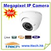 Hot HD 1.0/1.3/2.0/5.0 Megapixel IP Dome Camera with 35-40 IR nighvision