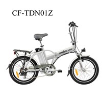 "20"" CE Foldable Electric Bicycle with Alloy Frame"
