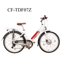 26' 36V 250W Aluminum Electric City Bike