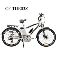 "CF-TDE03Z  26"" Aluminum  36V/250W Electric Mountain Bike"