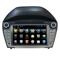 2 Din Android Autoradio DVD Player Hyundai IX35 2014 In Dash Car GPS Navigation Radio Wifi