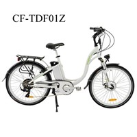 Aluminum Alloy Lady Electric Bike with high quanlity