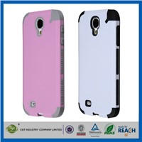 C&T Popular universal 2 in 1 hybrid combo mobile phone case for samsung s4