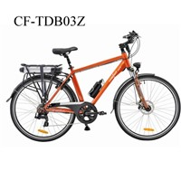 700C Aluminum Alloy 6-7 Speed Gears City Electric Bicycle