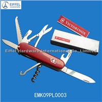 High quality 11 in 1 swiss Army Knife with ABS handle in red (EMK09PL0003)