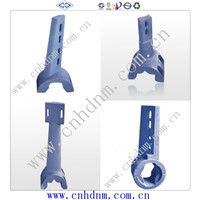 concrete batching plant mixer arms mixing blades