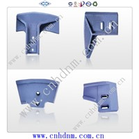 SiComa concrete mixer fittings mixing blades