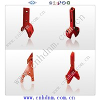 high quality wear resistant alloy concrete mixer blades mixing arms