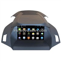 Wholesale 2Din Car Video DVD Player Ford Kuga 2014 GPS / Glonass Navigation