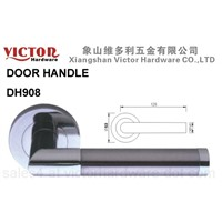 Zinc Alloy Door Handle on rose (DH908)