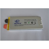 3.7V 10Ah 15C (37 Wh, 150A 15C rate) High Power LiPo battery for FSE projects!