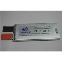 3.7V (29.6 Wh, 160A 20C rate) High Power Lithium ion Polymer battery cell
