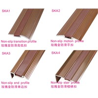 CK-Alu floor rose-golden Profile for lamnated Floor