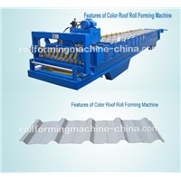 Color Roof Roll Forming Machine