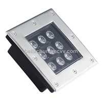 EPI star chips IP65 waterproof 9W 810lm plaza underground light LED