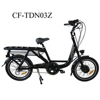 48V 200KGS Loaded Alloy Electric City Bicycle