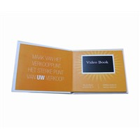 LCD Invitation Video Greeting Card for Gifts & Promotion, with Video Recording & Logo Imprint