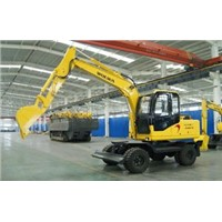 10 ton wheel excavator with ce certification