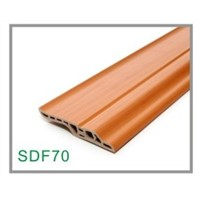 SDF70 PVC Baseboard for Timber Flooring