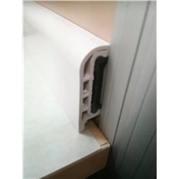 5cm wall PVC skirting board